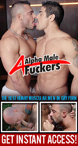 Alpha Male Jerk Offs - Mature Muscled man jerking off